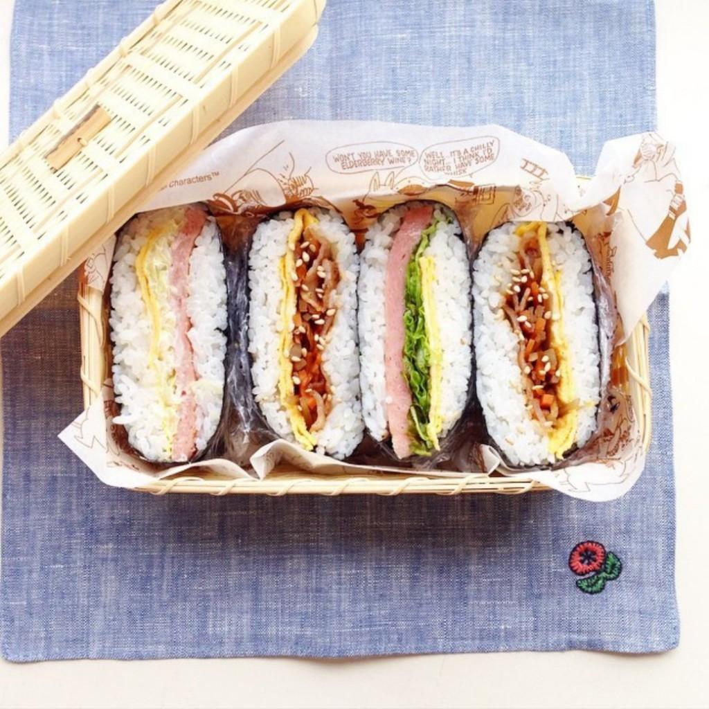 ピクニックの簡単お弁当メニューはおにぎらず