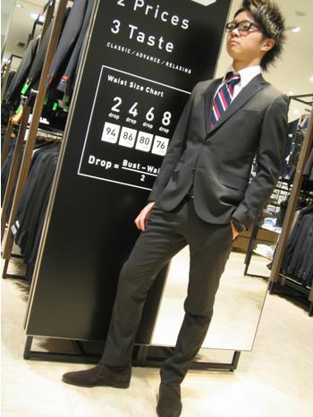 入学式での男の子向けのスーツの選び方