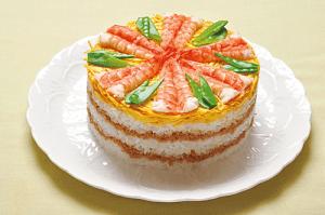 ケーキずしの献立