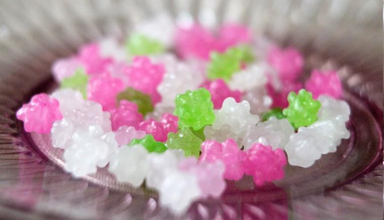 金平糖の作り方。家庭で金平糖を作ることが出来るのか?簡単?