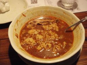 スープカレー 食べ方