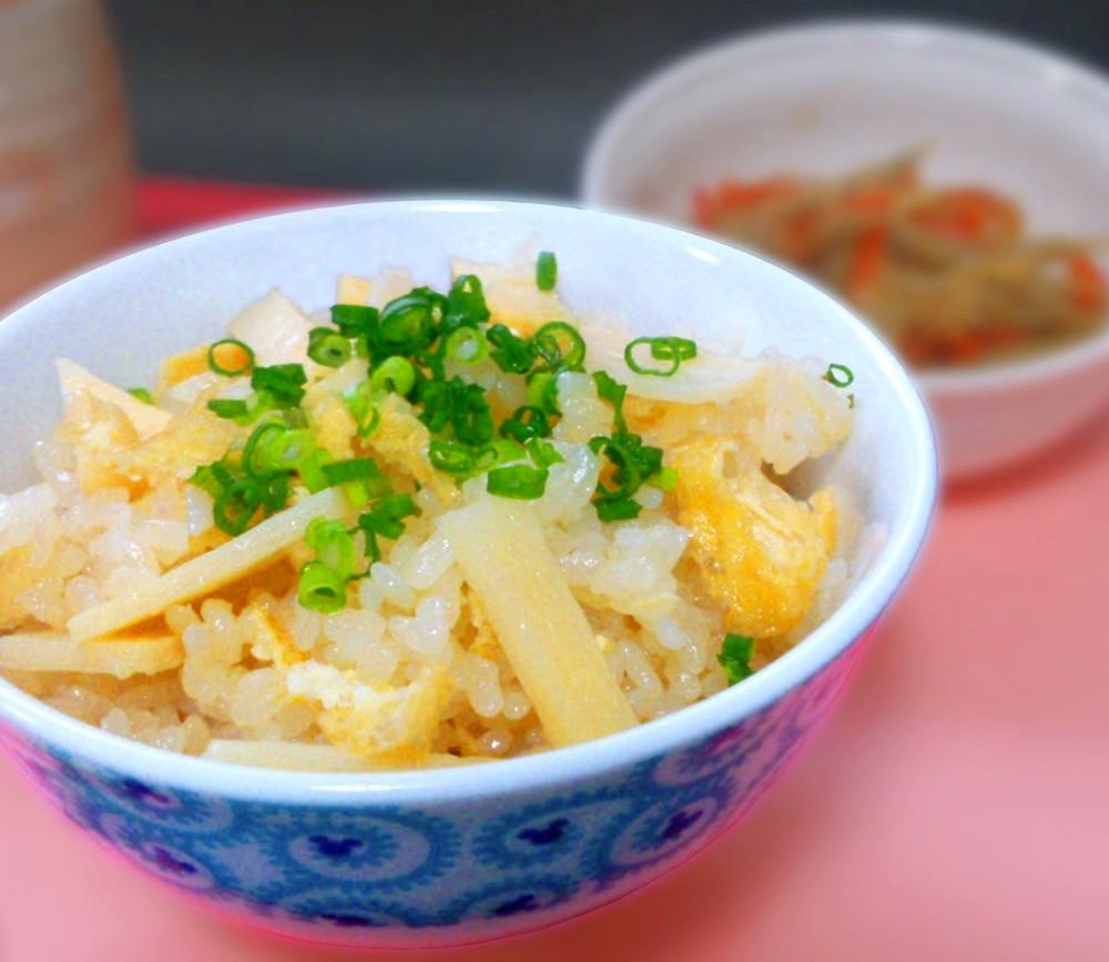 ナウちゃんさんの作ったたけのこご飯レシピ!クックパッド上位の美味しいレシピ!あっさりです。