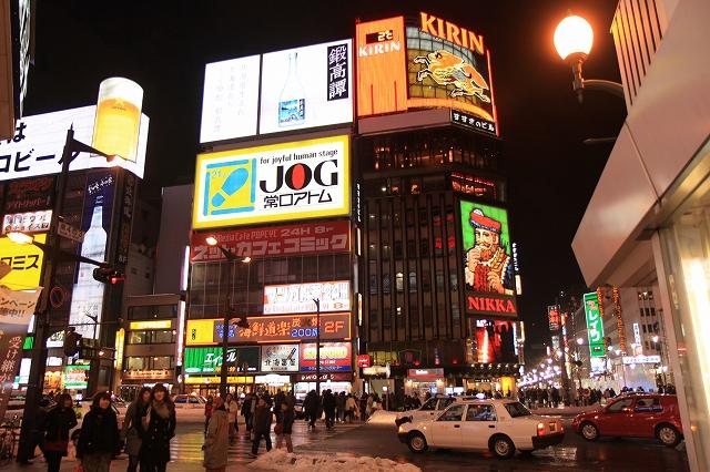 札幌旅行はすすきのなど中心街のホテルに泊まるべき