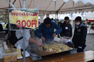 ちゃんちゃん焼き 祭り