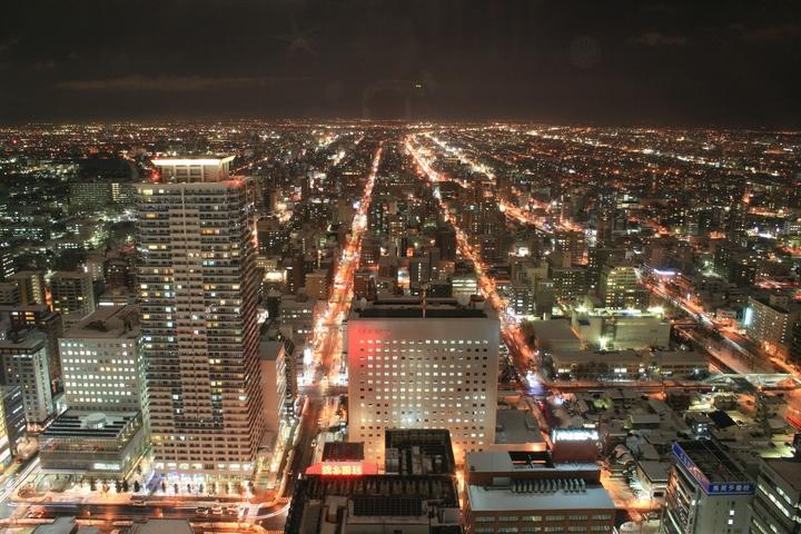 札幌の夜の観光はJRタワー