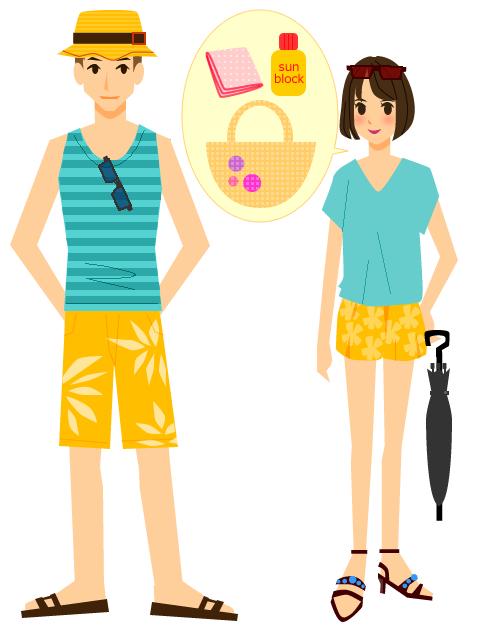 沖縄旅行ですべき服装のまとめ