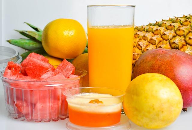 ジュースクレンズのフルーツのレシピ