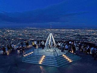 札幌旅行の夜景はもいわ山展望台