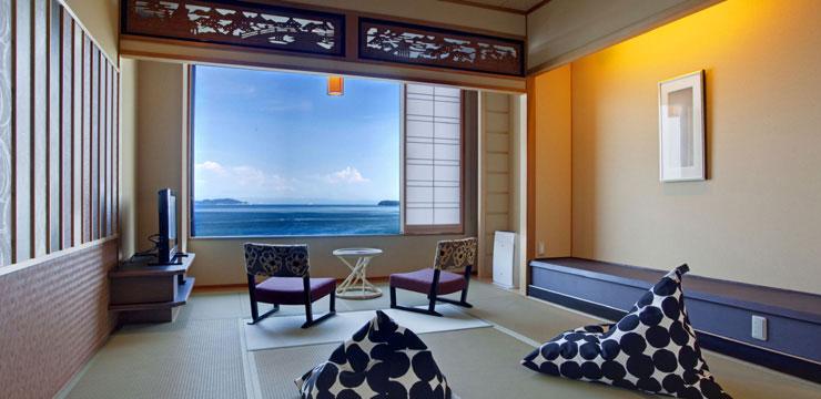 淡路島の人気ホテルは渚の荘 花季