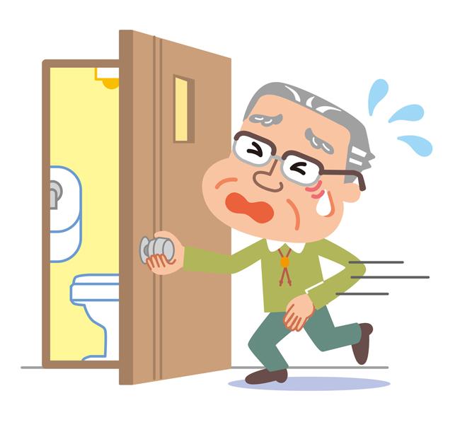 男性がトイレが近い原因や理由