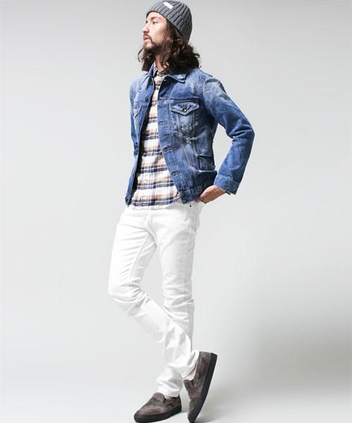 春のおすすめメンズファッションはデニムジャケット