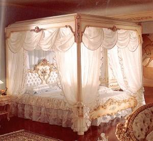 ベッド 天蓋 2