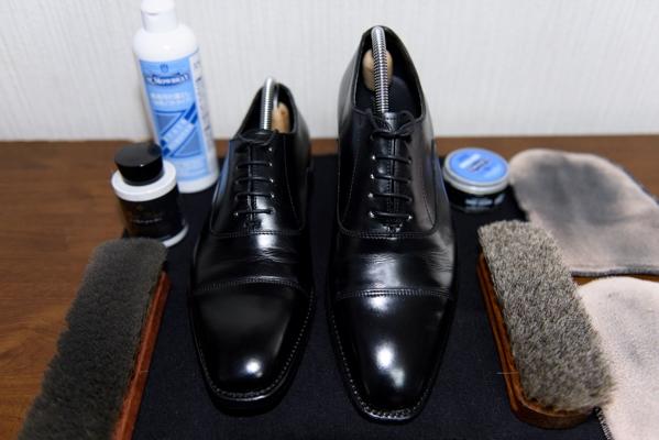 革靴の手入れ補法
