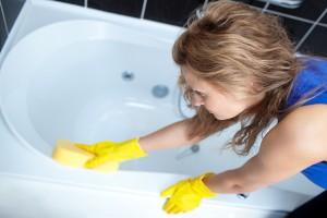 お風呂掃除をクエン酸でする方法