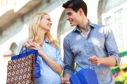 妊娠安定期 出産準備 買い物